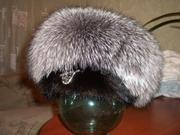 Продам новую женскую шапку из чернобурки с норкой .