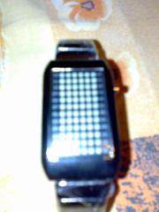 Продаются интересные нестандартные часы с 72-мя светодиодами.
